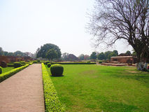 Nalanda universitet Royaltyfri Foto