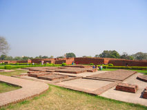 Nalanda University. Is located in Rajgir, near Nalanda, Bihar, India Stock Photography