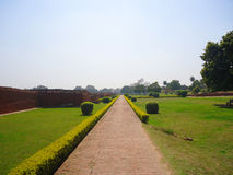 Nalanda University. Is located in Rajgir, near Nalanda, Bihar, India Stock Photo