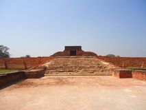Nalanda University. Is located in Rajgir, near Nalanda, Bihar, India Stock Image