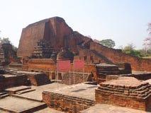 Nalandauniversiteit Stock Foto's