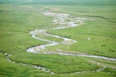 Nalati Grassland In Summer Stock Image