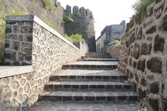 Naldurg Fort. Defensive architecture of historical Naldurg fort in Osmanabad, India Stock Photography