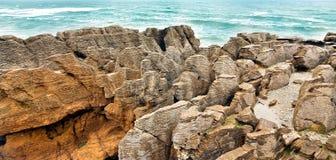 Naleśnikowe skały Fotografia Stock
