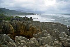 Naleśnikowe skały Obrazy Stock