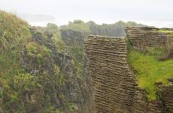 Naleśnikowe skały Zdjęcia Royalty Free