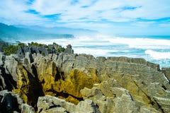 Naleśnikowe skały Zdjęcie Stock