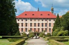 należy zwrócić szczególną libochovice chateau Zdjęcie Royalty Free