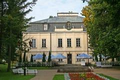 Naleczow Malachowski Palace. Naleczow, Poland - September 28, 2008: Malachowski Palace, built in the years  1771-1775 by Stanislaw Potocki and Marianna Stock Photos