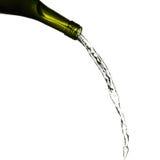 nalewa biały wino Zdjęcia Royalty Free