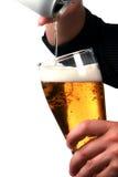 nalewanie piwa Obrazy Royalty Free