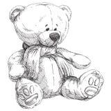 nalle för natt för björnjul älskvärd Arkivfoton