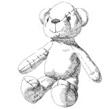 nalle för natt för björnjul älskvärd Arkivbilder
