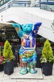 Nallebjörn i Berlin, Tyskland Royaltyfria Bilder
