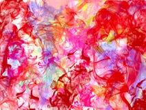 Nam abstracte achtergrondbloem kleurrijke rook toe Royalty-vrije Stock Fotografie