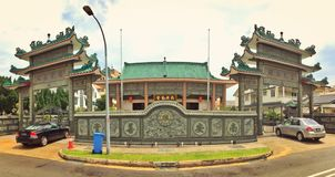 Nam Ann Siang Theon building Royalty Free Stock Photos