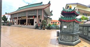 Nam Ann Siang Theon-de bouw Stock Foto