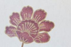 Nam bloemenbehang, textuurachtergrond toe Royalty-vrije Stock Afbeelding