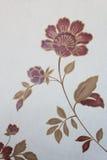 Nam bloemenbehang, textuurachtergrond toe Stock Foto's