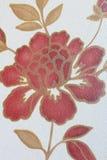 Nam bloemenbehang, textuurachtergrond toe Stock Afbeelding