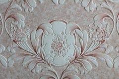 Nam bloemenbehang, textuurachtergrond toe Stock Foto