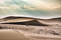 Nam Cương sand hill Royalty Free Stock Image