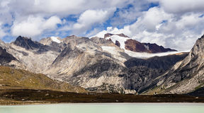 Nam Co scenery in Tibet Plateau Royalty Free Stock Photos