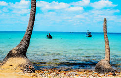 Nam Du beach. Nam Du island has become an attractive destination for tourists Stock Image