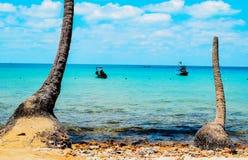 Nam Du plaża Nam Du Wyspa zostać atrakcyjnym miejscem przeznaczenia dla turystów Obraz Stock