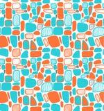 Nam en groen abstract geometrisch patroon toe. Decoratieve elementen op de witte achtergrond. Eindeloze glamourtextuur stock illustratie