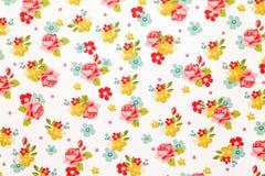 Nam het document van het bloempatroon toe Stock Fotografie