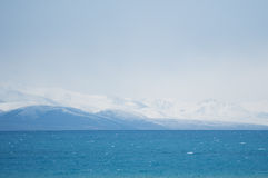 Nam Lake av Tibet Arkivfoto