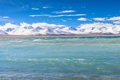 Nam Lake. Namtso, Namucuo, a famous holy lake in Tibet, China Royalty Free Stock Photo