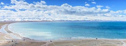The Nam Lake. In Tibet, China Stock Photos