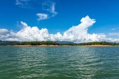 Nam Ngum Lake In Laos stockbild