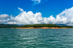 Nam Ngum Lake In Laos Royalty Free Stock Photography