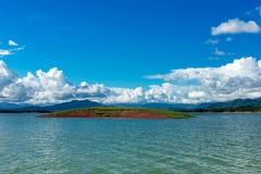 Nam Ngum Lake In Laos Royalty Free Stock Photo