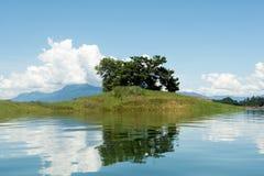 Nam Ngum reservoir in Laos Royalty Free Stock Image