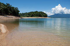 Nam Ngum reservoir in Laos Royalty Free Stock Images