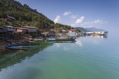 Nam Ngum Reservoir, Laos Royalty-vrije Stock Afbeeldingen