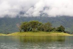 Nam Ngum Reservoir, Laos Royalty Free Stock Photo