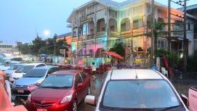 Nam Non rynek w Tajlandia zbiory wideo