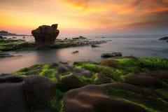 Nam O海滩 免版税库存照片