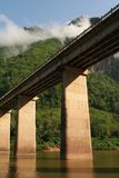 Nam-ou bridge at nhong-kiew4 Stock Photo