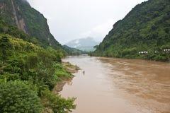 Nam Ou river Stock Image