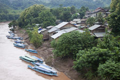 Nam Ou river Stock Photography