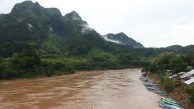 Nam Ou rzeka zbiory wideo