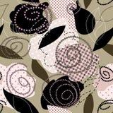 Nam patroon met flard toe royalty-vrije illustratie
