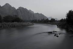 Nam piosenki rzeka Obraz Royalty Free