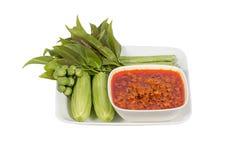 Nam Prik Ong thai name.Thailand food Royalty Free Stock Image